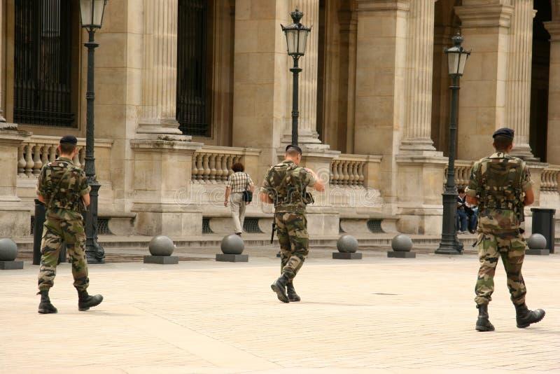 Franse militair royalty-vrije stock afbeeldingen