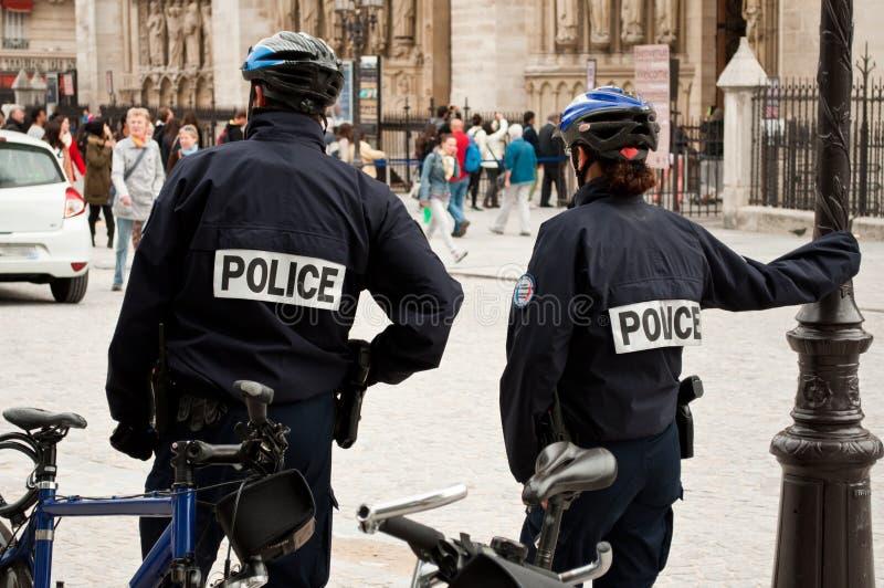 Franse politieagent royalty-vrije stock foto