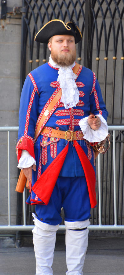 Franse regimemilitairen stock foto