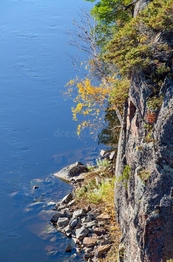 Franse rivier stock fotografie