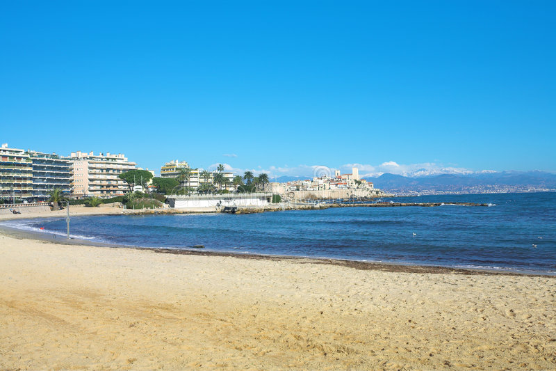 Franse Riviera stock fotografie