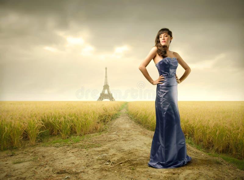 Franse schoonheid stock fotografie