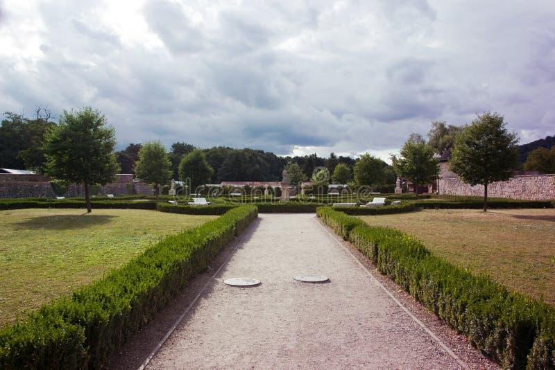 Franse Tuin royalty-vrije stock afbeelding