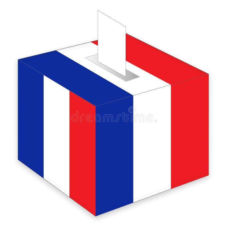 Franse verkiezingen royalty-vrije stock foto's