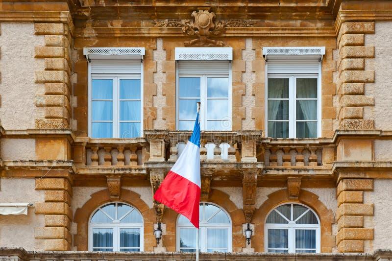 Franse Vlag stock foto's