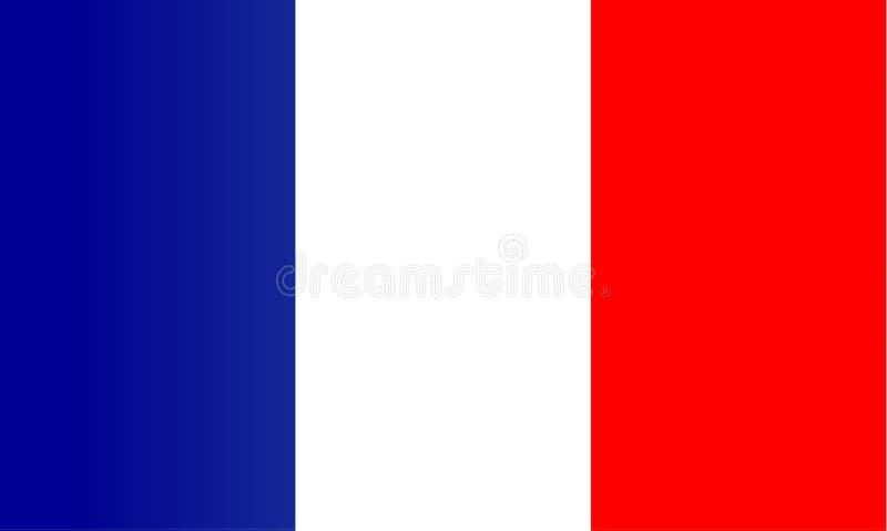 Franse vlag vector illustratie