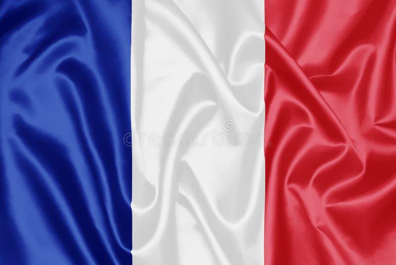 Franse vlag - Frankrijk stock illustratie