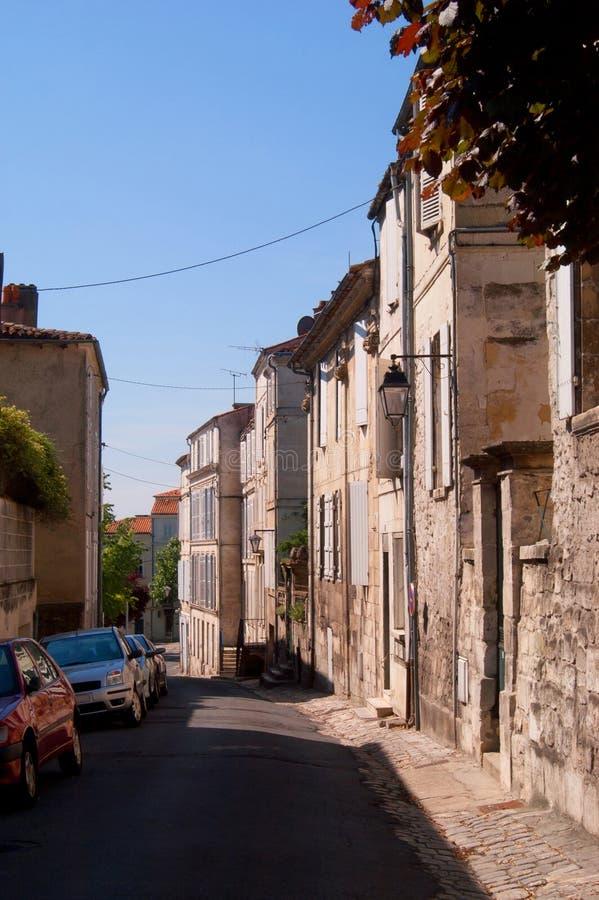 Franse zijstraat stock afbeeldingen
