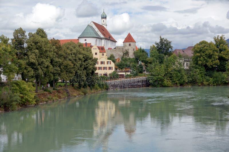 Download Fransiskanerkloster - Kloster Auf Dem Fluss Lech Stockfoto - Bild von aufgebaut, nave: 26365520