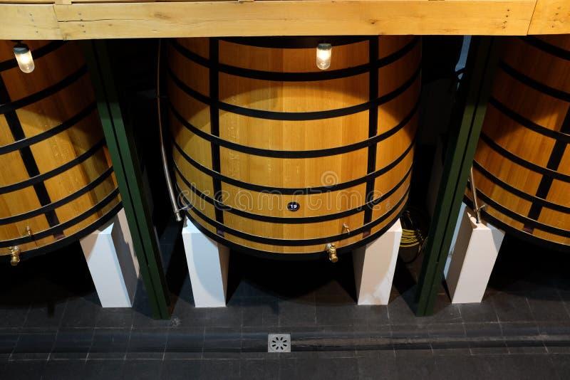 Fransk berömd vinodling arkivfoton