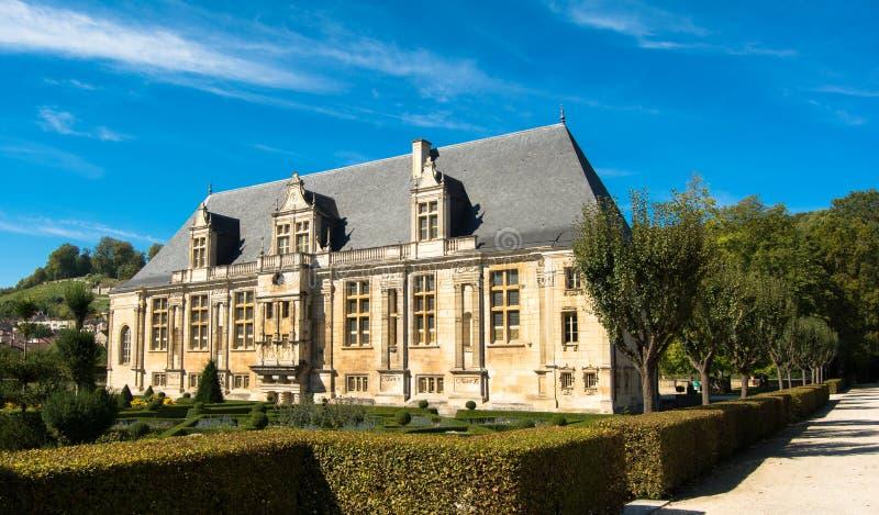 Fransk Chateau arkivbild