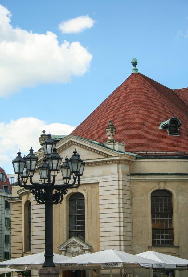 Fransk domkyrka på Berlin royaltyfri bild