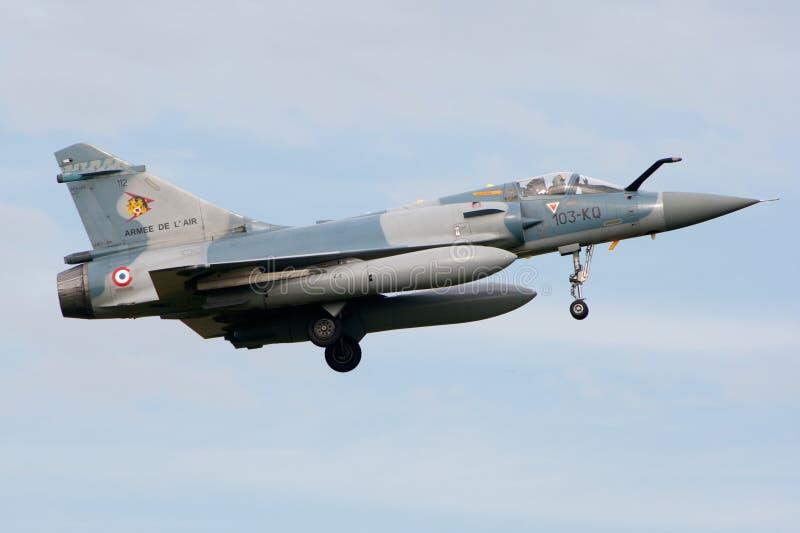 Fransk flygvapenhägring 2000 royaltyfri fotografi