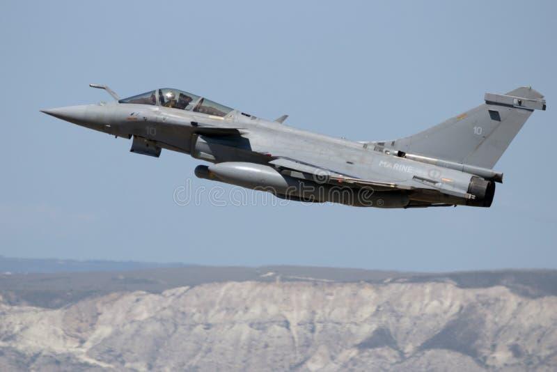 Fransk marin Dassault Rafale royaltyfria bilder