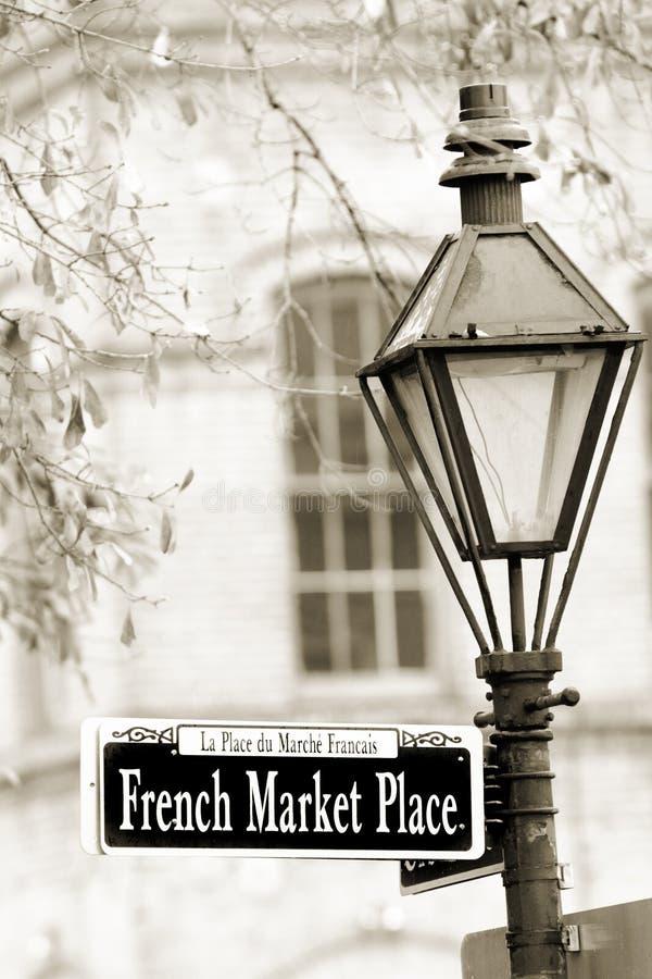 fransk marknad arkivfoto