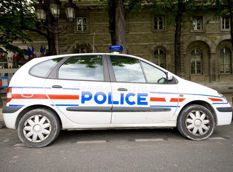 fransk polis royaltyfria bilder