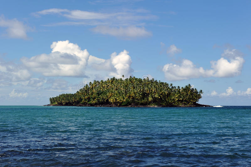 fransk södra guiana för Amerika jäkel ö royaltyfri bild