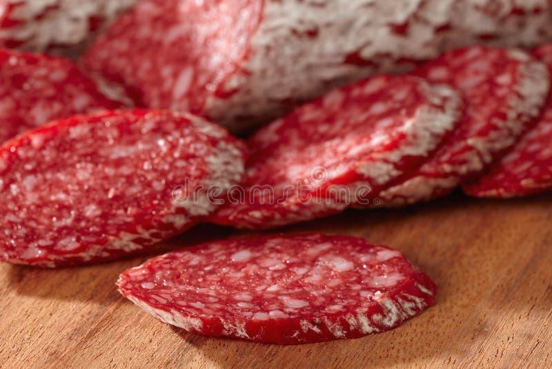 fransk salami royaltyfri fotografi