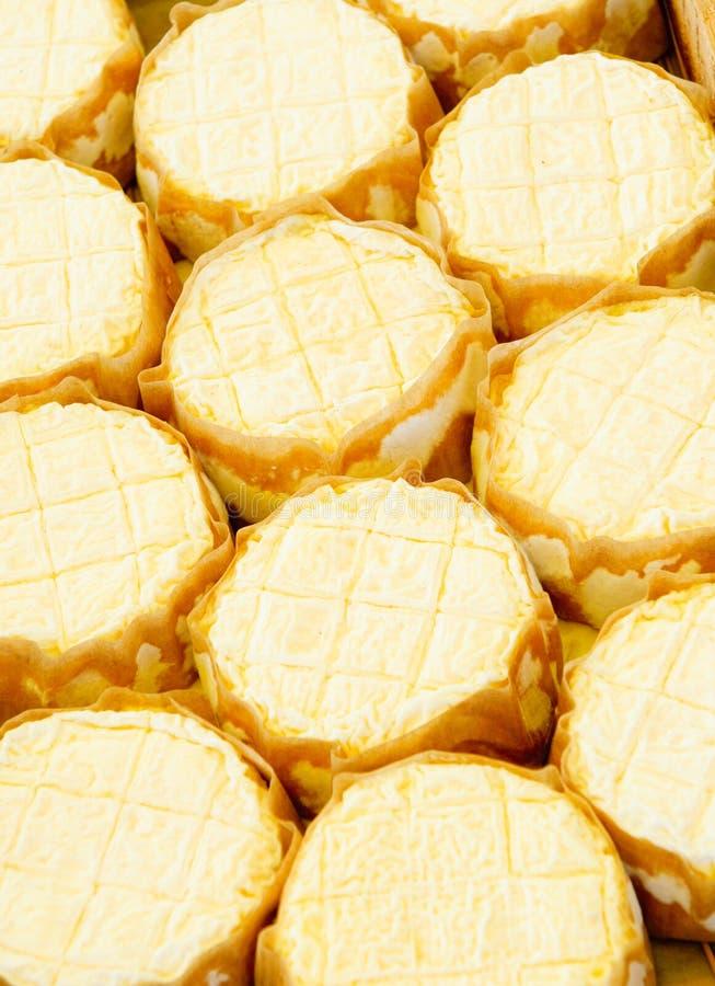 Fransk slapp ost royaltyfria foton