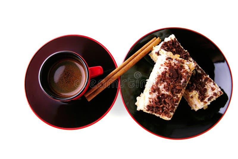 fransk stek för kaffe royaltyfri foto