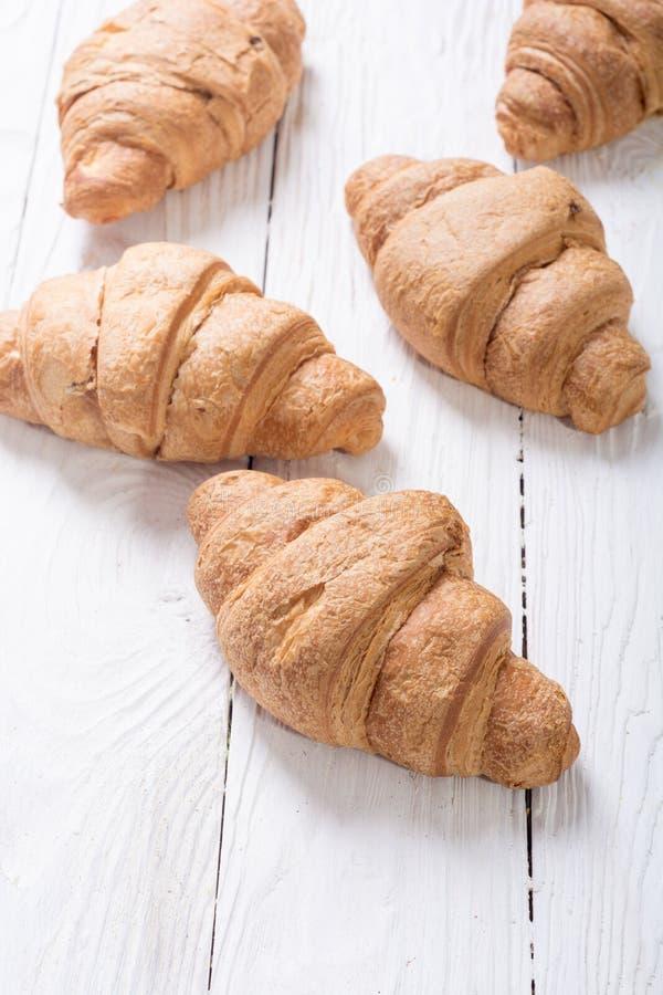 Fransk traditionell frukostgiffel arkivfoton
