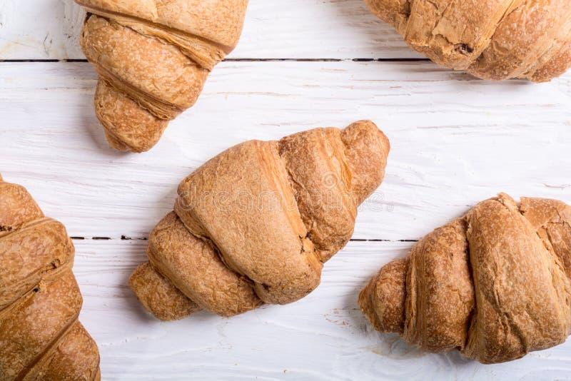 Fransk traditionell frukostgiffel royaltyfri foto