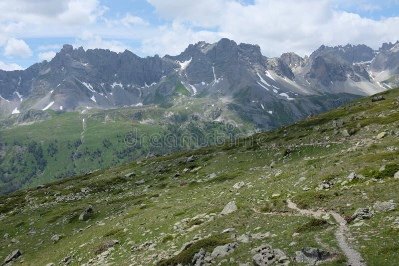 franska alps royaltyfria bilder