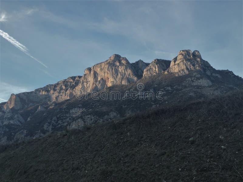franska pyrenees arkivfoto