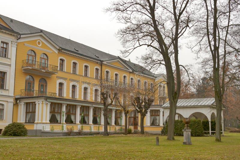 Frantiskovy Lazne park architecture royalty free stock image