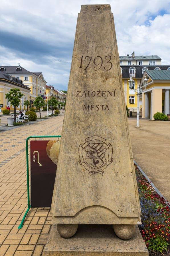 Frantiskovy Lazne (Tsjechische Republiek) royalty-vrije stock fotografie