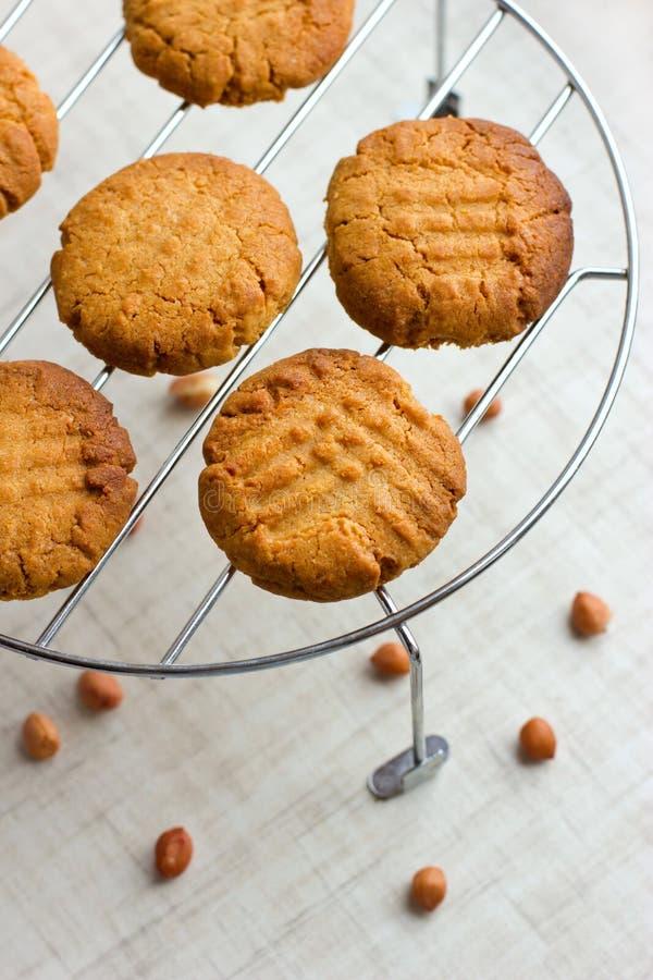 Französische Erdnusskekse lizenzfreies stockbild