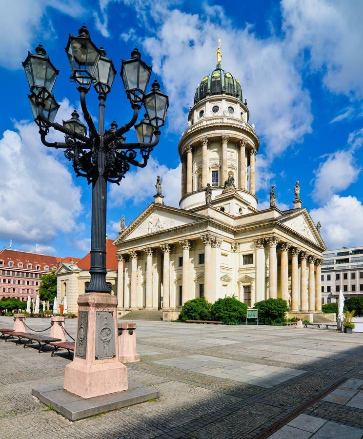 Französische Kathedrale in Berlin, Deutschland lizenzfreies stockfoto