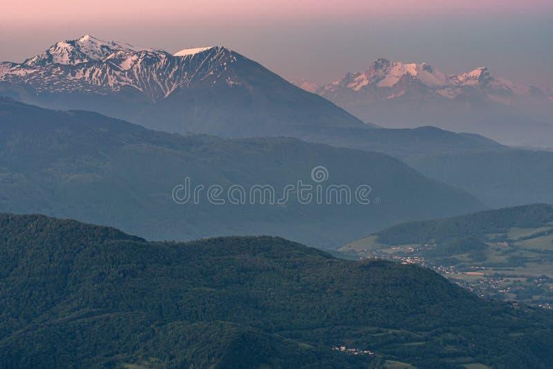 Französische Landschaft - Chartreuse lizenzfreie stockfotos