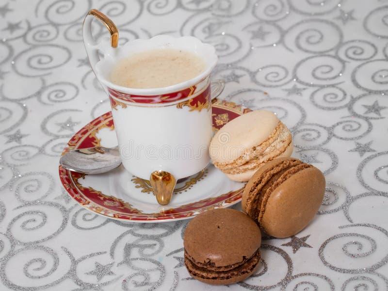 Französische macarons stockfotografie
