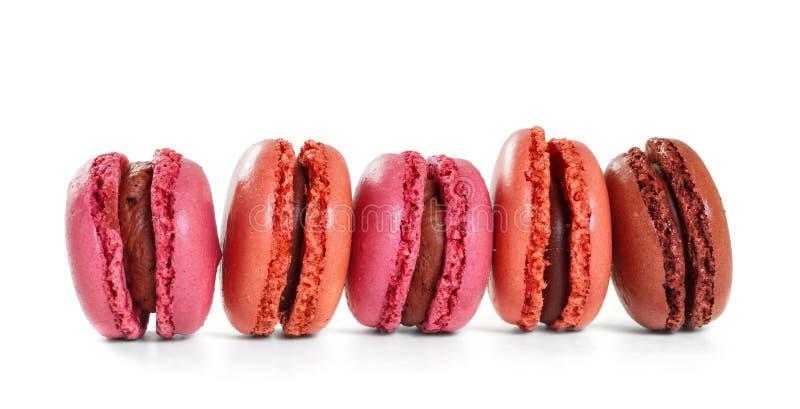 Französische macarons. stockfotos