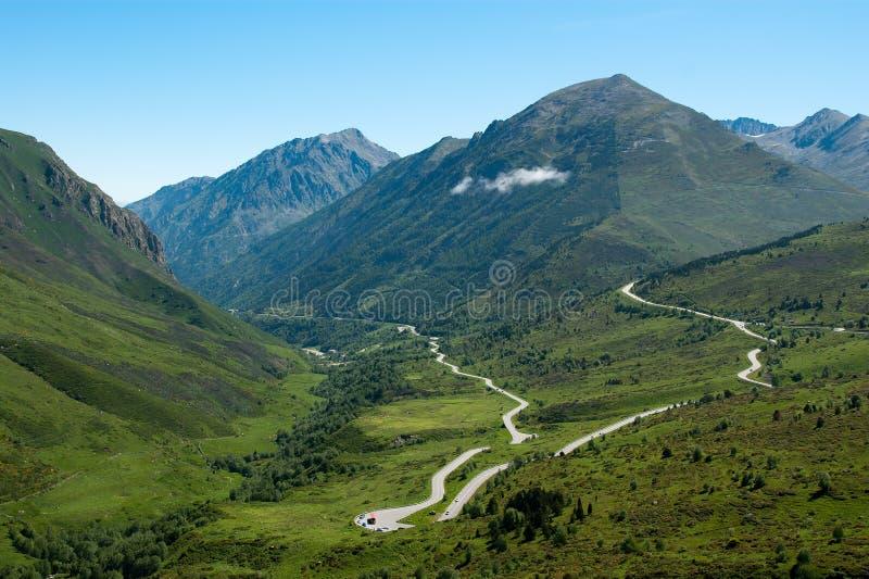 Französische Pyrenees lizenzfreies stockbild