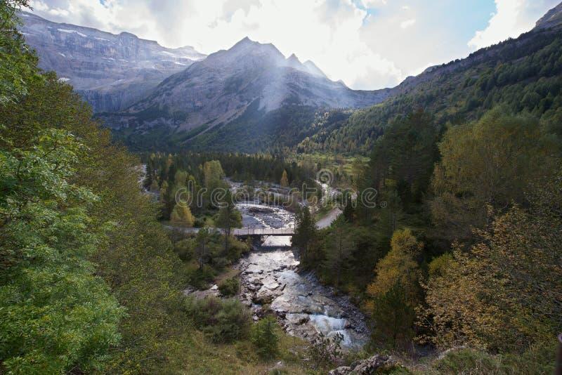 Französische Pyrenees lizenzfreie stockfotos