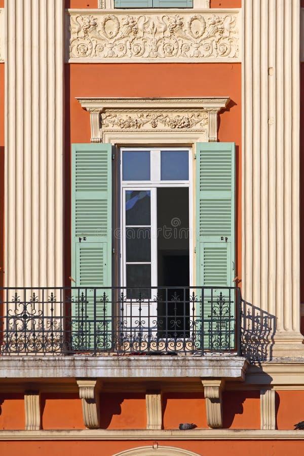 Französischer Balkon stockfotos
