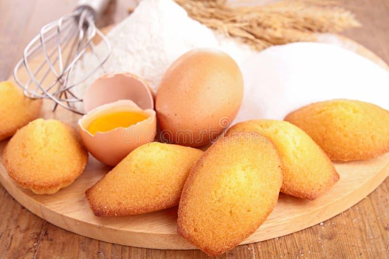 Französischer Butterkuchen stockfotos