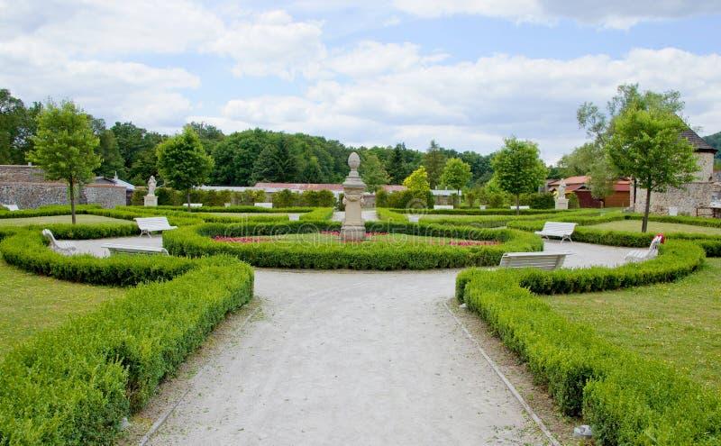 Französischer Garten lizenzfreie stockbilder