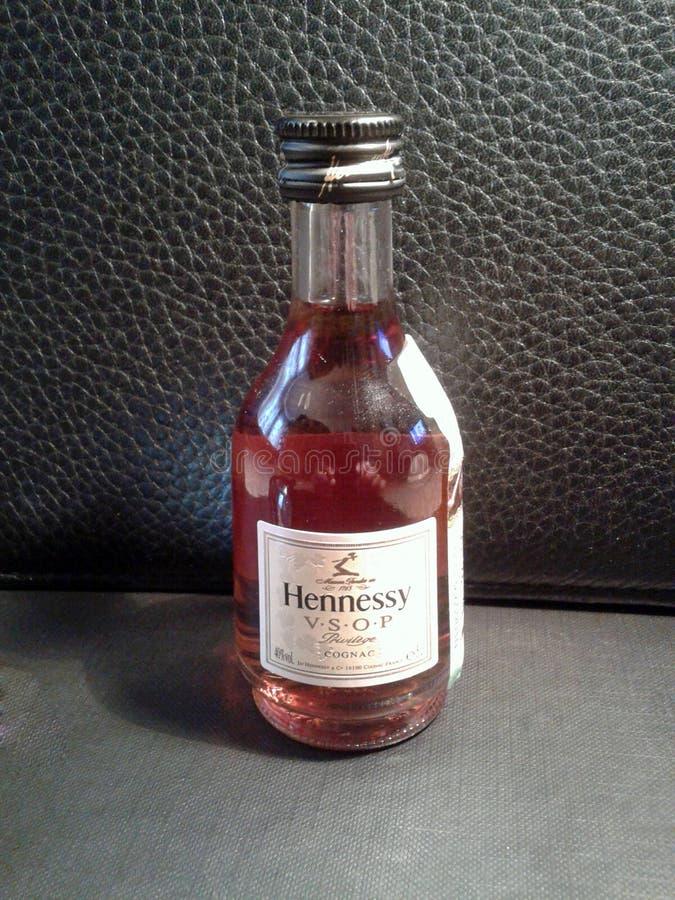 """Französischer Kognak """"Hennessy VSOPÂ"""" stockbild"""