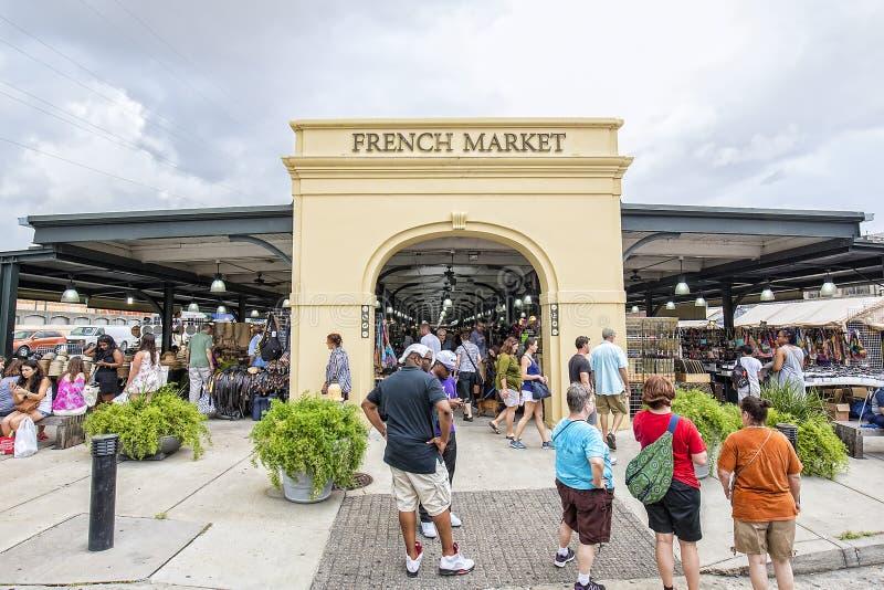 Französischer Markt, New Orleans lizenzfreies stockbild