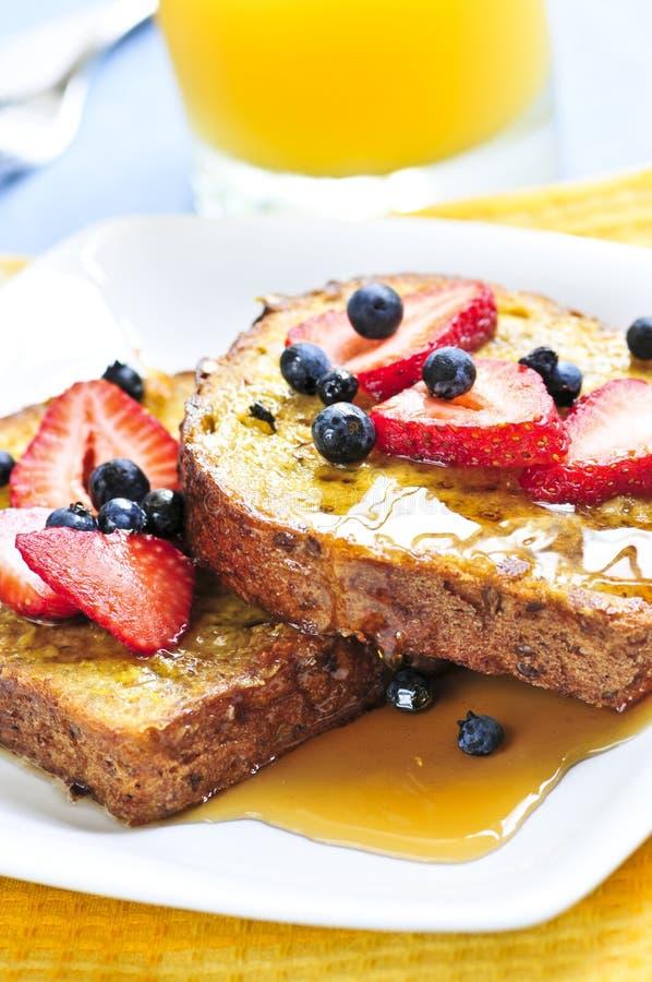 Französischer Toast lizenzfreie stockbilder