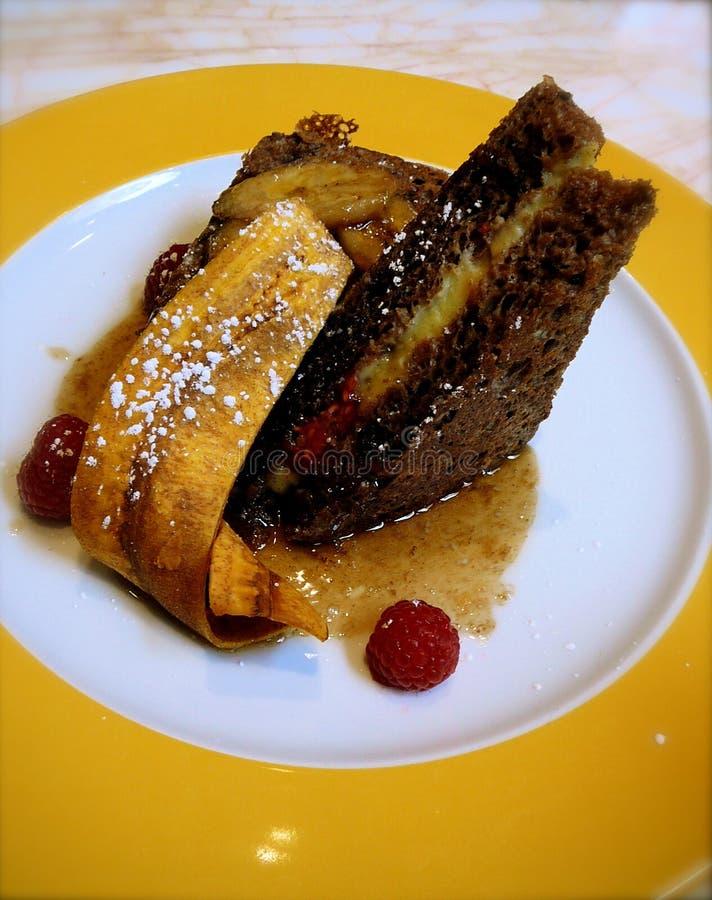 Französischer Toast-Frühstück lizenzfreie stockfotografie