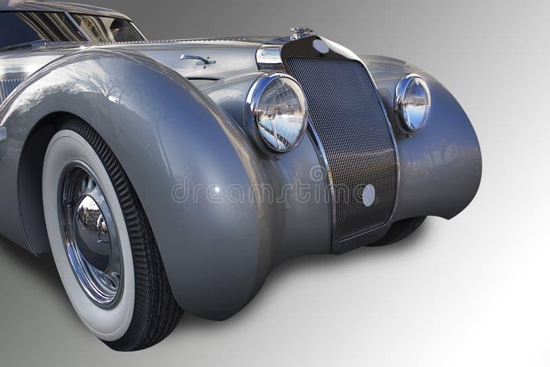 Französisches altes Auto. lizenzfreies stockbild