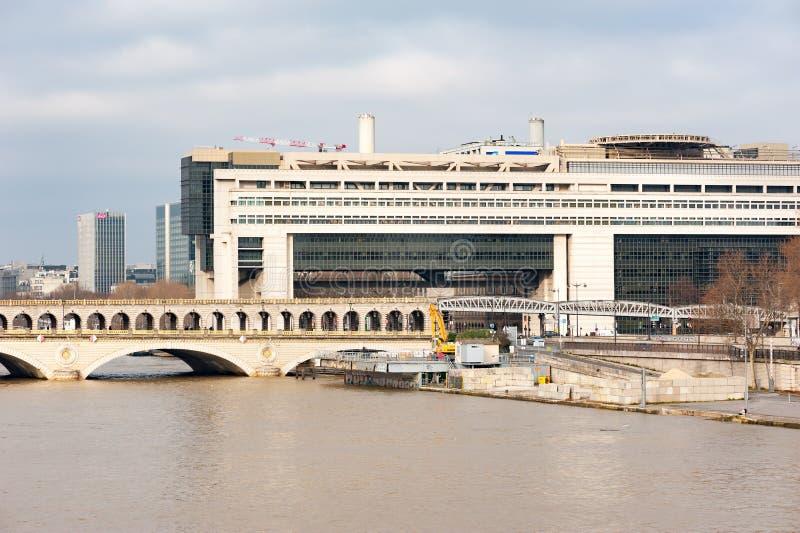 Französisches Finanzministerium Bercy in Paris lizenzfreie stockfotografie