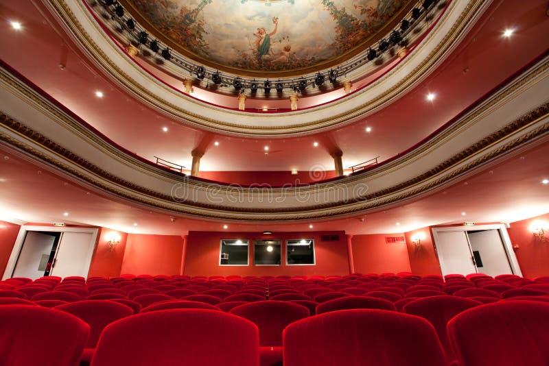 Französisches klassisches Theater lizenzfreie stockfotografie