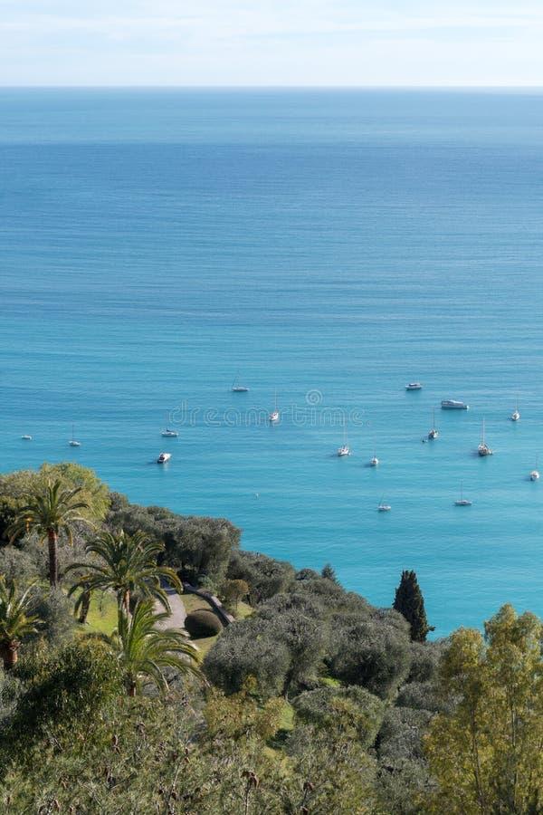 Französisches Riviera stockbild