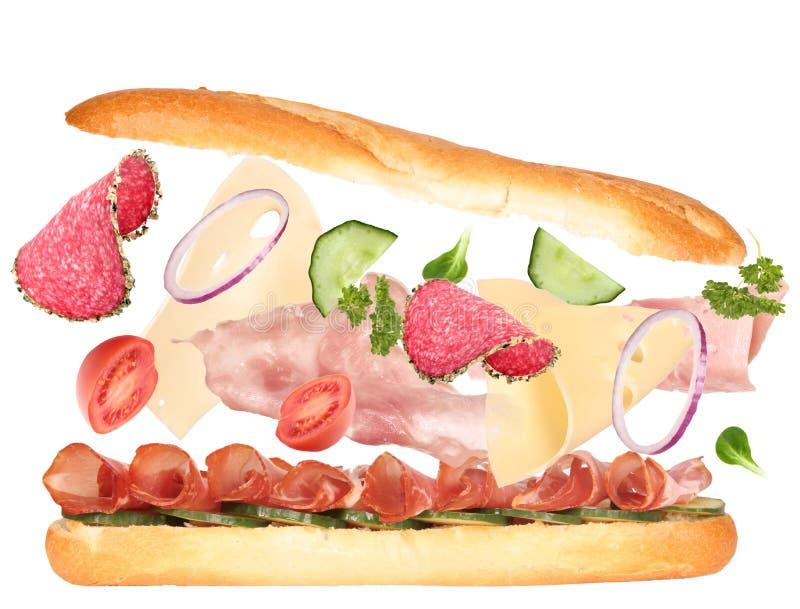 Französisches Stangenbrot stockbild
