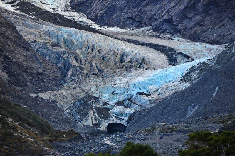 franz glaciär josef fotografering för bildbyråer